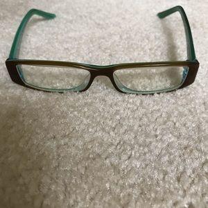 Bebe gel finish eye glasses